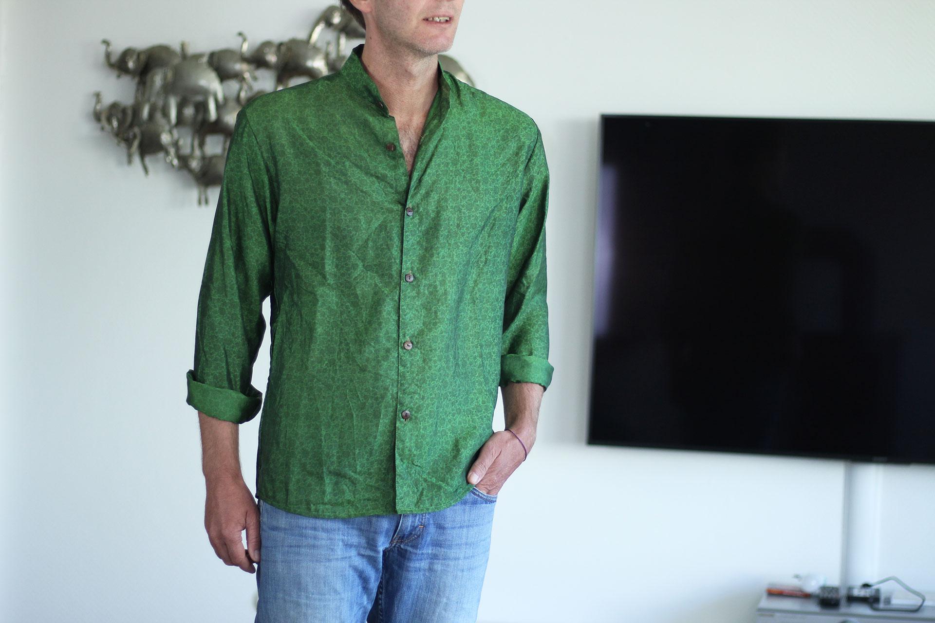 herrenhemd-basil-gruen