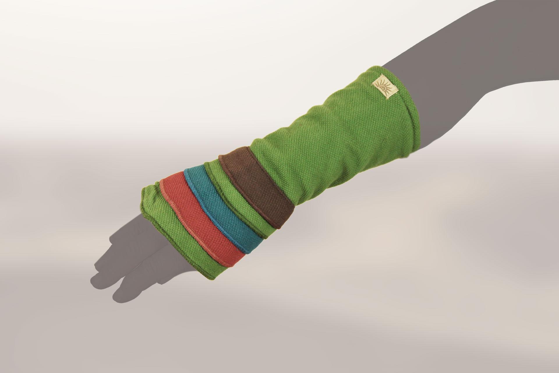 Armstulpen multicolor