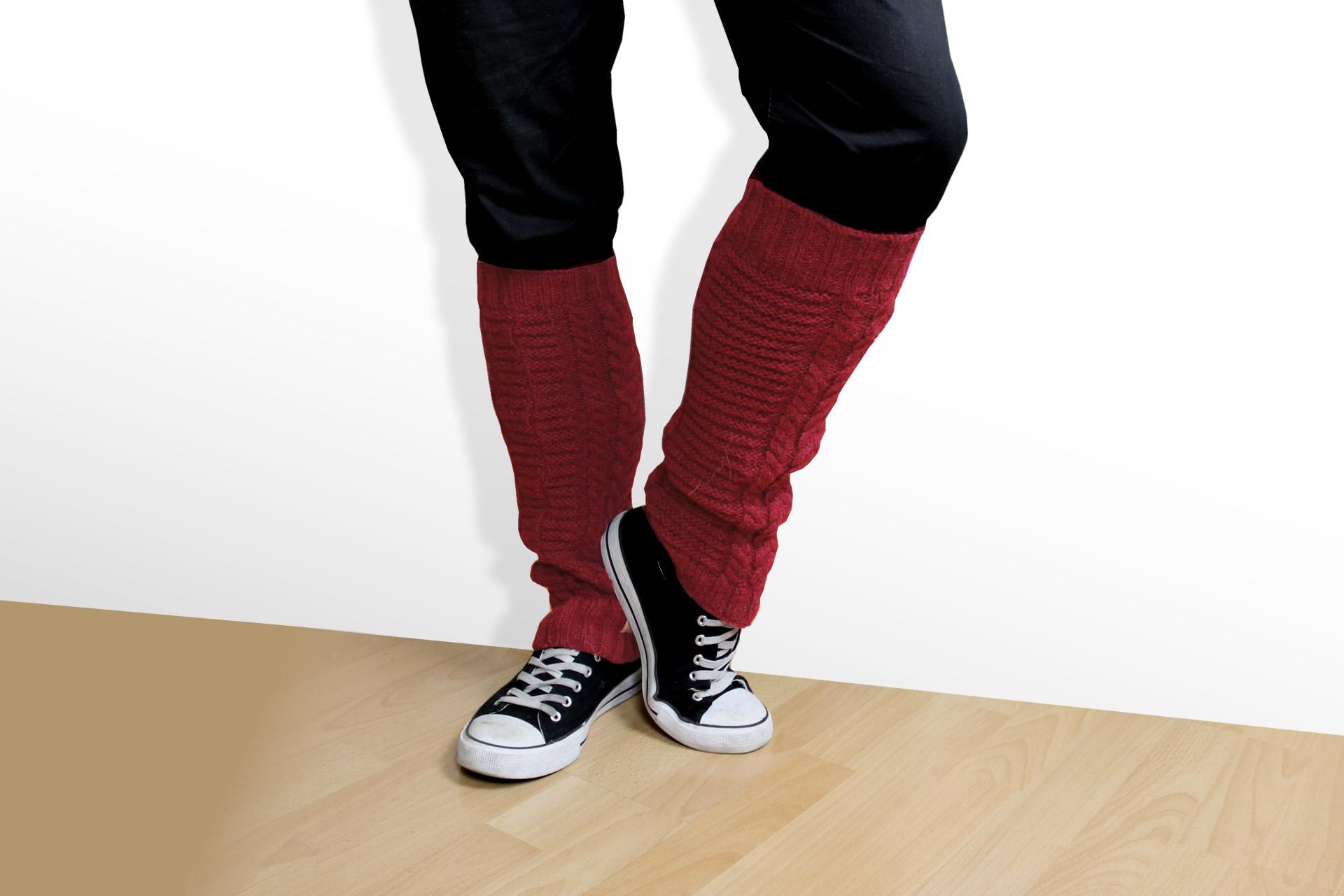 Beinstulpen rot
