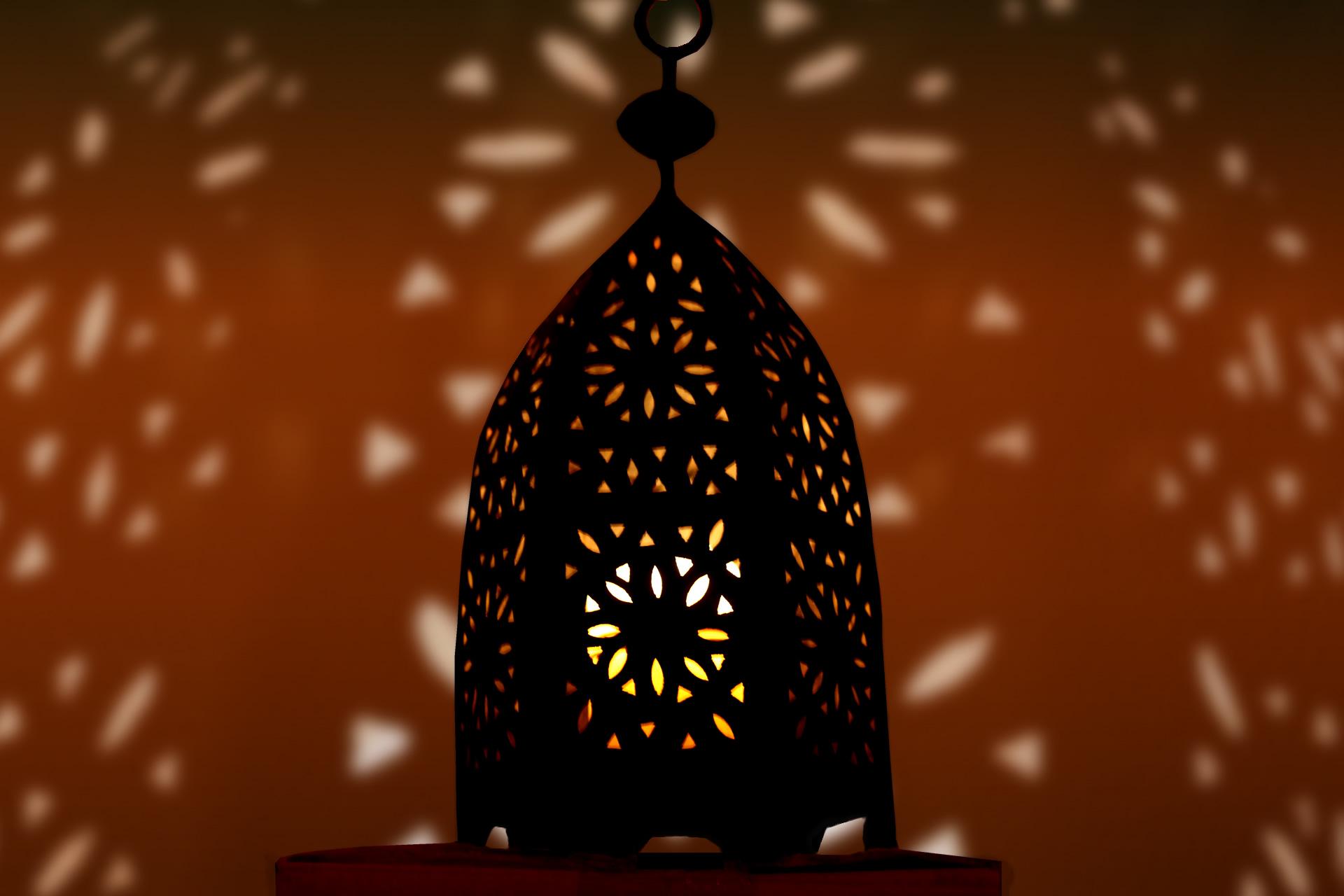 Windlicht aus Marrakesch